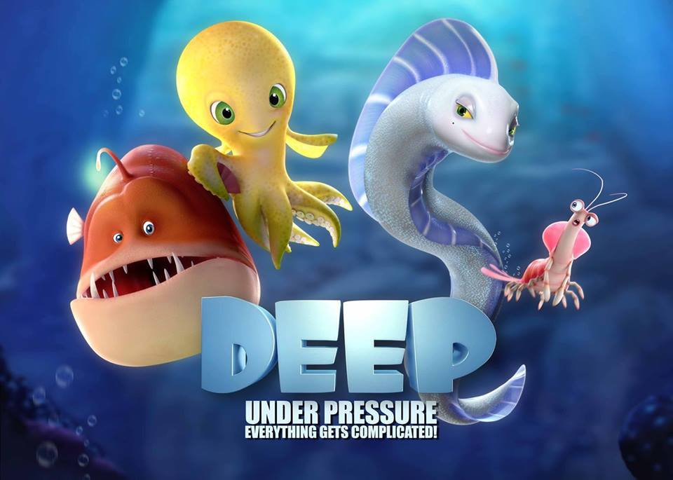 """""""DEEP"""" IN SELECTION IN ANNECY INTERNATIONAL ANIMATION FILM"""